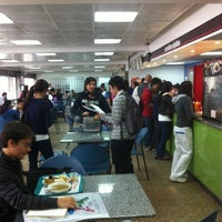 Photo taken at Cafeteria Central by Sergio M. on 4/10/2012