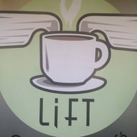 Photo taken at Lift Coffee Shop & Café by Kevin J. on 7/6/2012