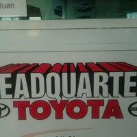 Photo taken at Headquarter Toyota by Shaquira B. on 4/1/2012