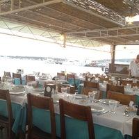 7/21/2012 tarihinde Arzu C.ziyaretçi tarafından Cunda Sahil Restaurant'de çekilen fotoğraf