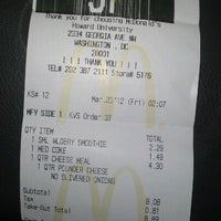 Photo taken at McDonald's by Jose R. on 3/23/2012
