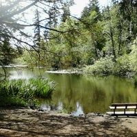 Photo taken at Spanaway Park by Ali H. on 5/24/2012