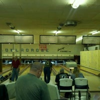 Photo taken at Edgemere Bowl by Mike G. on 4/19/2012