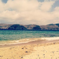 Photo taken at Panormos Beach by Nuno R. on 8/11/2012