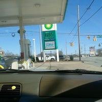 Photo taken at BP by Caroline E. on 2/15/2012
