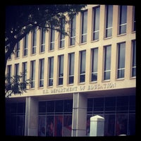 Photo taken at Lyndon Baines Johnson Department of Education Building by Aaron H. on 7/22/2012