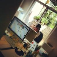 Photo taken at Wearethewords - Marketing et stratégie de contenu Web (Siège social) by Mathias E. on 6/20/2012