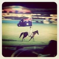 Photo taken at Spotless Stadium by Elisa E. on 4/14/2012