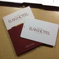 Photo taken at Elan Hotel by Sou S. on 9/3/2012