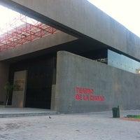 Photo taken at Teatro de la Ciudad by Oasisantonio on 4/7/2012