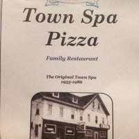 Photo taken at Town Spa Pizza by Allen E. on 9/4/2012