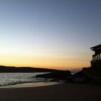 Photo taken at Praia da Direita by Paula V. on 6/3/2012