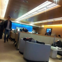 Photo taken at Delta Sky Club by Pablo M. on 2/11/2012