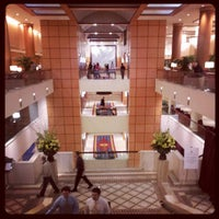 Photo taken at JW Marriott Washington, DC by Jeramiah D. on 4/10/2012