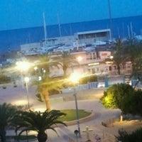 Photo taken at La Pobla de Farnals Beach by Vicent H. on 5/6/2012
