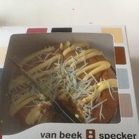 Photo taken at Banketbakkerij Van Beek/Specker by Gina Golda P. on 3/13/2012