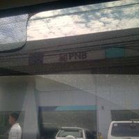 Photo taken at PNB QC Circle by babypat C. on 3/28/2012