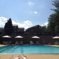 Photo taken at Embassy Park Pool by Allison W. on 5/30/2012