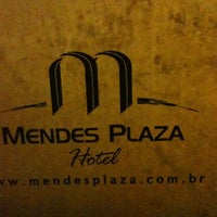 Photo taken at Mendes Plaza Hotel by Felipe M. on 6/29/2012