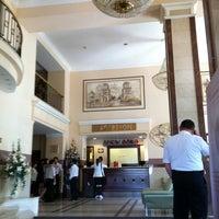 Photo taken at Гостиница «Минск» / Minsk Hotel by Alexander🔯 K. on 5/22/2012