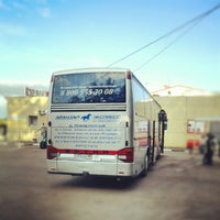 Снимок сделан в Автостанция «Новоясеневская» пользователем STILET 9/1/2012