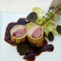 Photo taken at Restaurant Riedenburg by Tessa B. on 4/4/2012