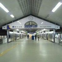 Photo taken at Shin-Sugita Station by きく on 2/21/2012