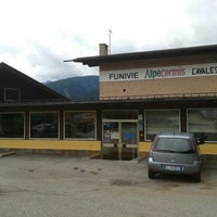 Photo taken at Intermedia Funivia Alpe Cermis by Caterina M. on 8/26/2012