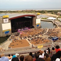 Photo taken at Northwell Health at Jones Beach Theater by Matthew C. on 8/19/2012