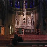 Photo taken at Saint Francis Xavier College Church by Eric W. on 9/1/2012