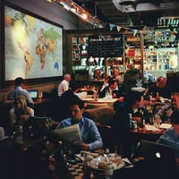 Photo taken at The Tin Goose (Pub & Kitchen) by Stefanie H. on 4/25/2012