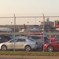 Photo taken at MSP Airport Cell Phone Lot by Carlos on 8/11/2012