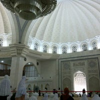 Photo taken at Masjid Wilayah Persekutuan by deella 0. on 8/6/2012