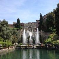Photo taken at Villa d'Este by Krevet on 5/13/2012