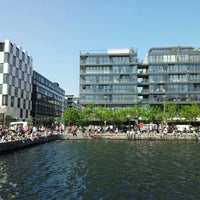 Photo taken at Grand Canal Dock by Victor K. on 5/27/2012