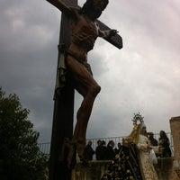 Photo taken at Ermita de la Santa Cruz by Juan Antonio M. on 4/4/2012