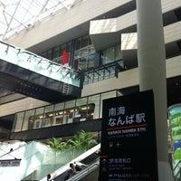 Photo taken at Nankai Namba Station (NK01) by MOE on 7/28/2012