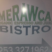 Photo taken at AmeRAWcan Bistro by Miichele on 8/29/2012