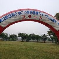 Photo taken at 久留米百年公園 by mametubashi w. on 5/19/2012