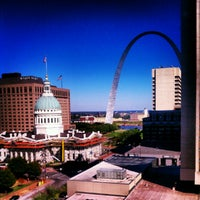 Photo taken at Hilton St. Louis at the Ballpark by Cynthia on 9/10/2012