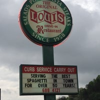 Photo taken at Louis' Original Drive-In by Spiffy H. on 4/5/2012