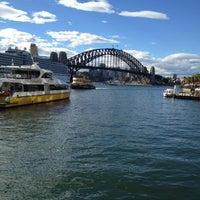 Photo taken at Circular Quay Ferry Terminal by Nicole S. on 3/9/2012