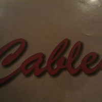 Photo taken at Cable's by Keiichi S. on 3/14/2012