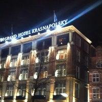 Снимок сделан в NH Collection Amsterdam Grand Hotel Krasnapolsky пользователем Supernova O. 4/24/2012