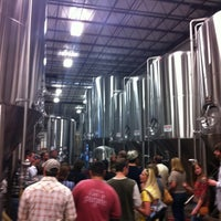 Photo taken at Highland Brewing Company by Marty K. on 4/7/2012