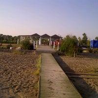 Photo taken at Kadriye Beach Park by Oylum O. on 7/13/2012