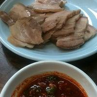 Photo taken at 필동면옥 by jaechun p. on 4/11/2012