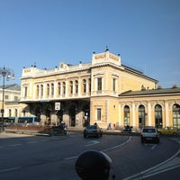 Photo taken at Stazione Trieste Centrale by Carlo F. on 3/27/2012