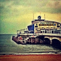 Photo taken at Bournemouth Pier by Alex H. on 5/31/2012