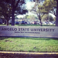 Photo taken at Angelo State University by Bailey A. on 3/20/2012